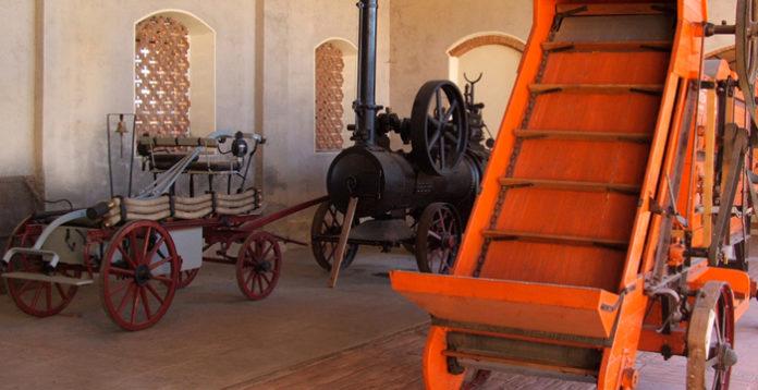 macchinari agricoli museo civiltà contadina campagna cremonese cascina farisengo