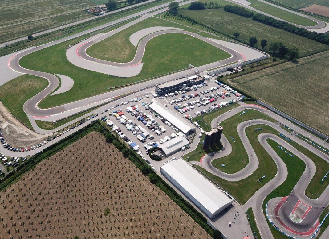 Cremona circuit autodromo pista prove per auto e moto. Annesso un kartodromo all'aperto